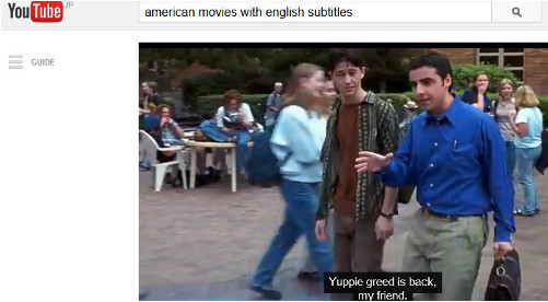 Learn English on YouTube