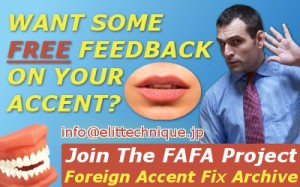 Foreign Accent Fix Archive (FAFA)